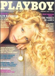 February 1983 Playboy POM Melinda Mays Kim Basinger Gabriel Garcia Marquez Kim Basinger, Naomi Campbell, Famous Celebrities, Famous Women, Celebs, 007 Woman, James Bond Girls, Suzanne Somers, Young Kim