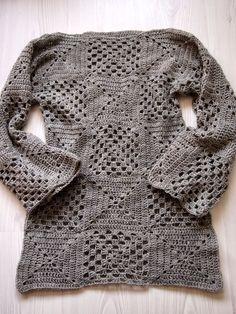 VMSomⒶ Koppa: Light gray wool plaid shirt, the sequel …. simple and beautiful : <3