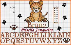 Priscila Junqueira Ponto Cruz: Tigrinho Baby
