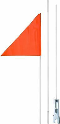 3 Piece Flag Pole Stands 6 Feet Tall Keep You And Or Love Ones More Visible With This Blaze Orange Tear Resistant Fla In 2020 Bicycle Safety Flag Pole Stand Baby Bike