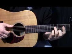 "how to play ""Never Going Back Again"" by Fleetwood Mac - acoustic guitar lesson - YouTube"