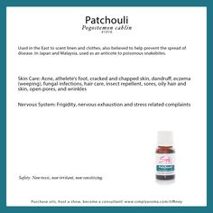 patchouli essential oil http://www.simplyaroma.com/tiffiney simply aroma essential oils