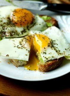 Simple Basted Eggs