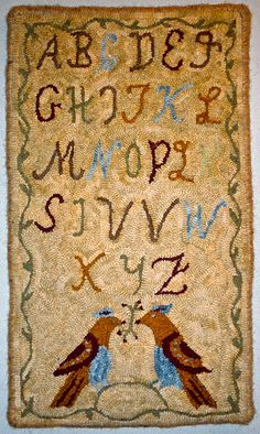 free rug hooking patterns | Rug Hooking Kits, Designs and Patterns.