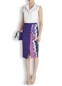 Ria printed pencil skirt - Women