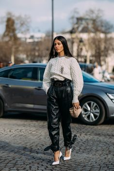 Day 8 | Street Style at Paris Fashion Week Fall 2018 | POPSUGAR Fashion Photo 1