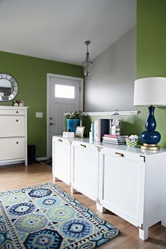 IHeart Organizing: A Little Credenza Styling Challenge
