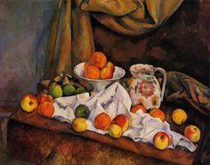 239. Natura morta con fruttiera, brocca e frutta - 1892-94 - Filadelfia, The Barnes Foundation
