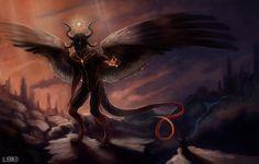 Demon by Luerro