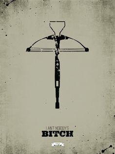 The Walking Dead Minimalist Posters by Ryan MacArthur