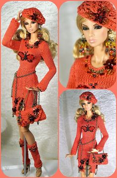 Community wall photos – 332 photos | VK Barbie Mode, Barbie And Ken, Barbie Dress, Barbie Clothes, Beautiful Dolls, Beautiful Outfits, Manequin, Knitting Dolls Clothes, Barbie Patterns
