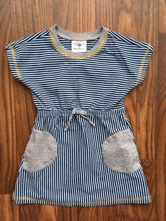 587d0ad4ba EUC Hanna Andersson Fun Striped Dress, Size 100 (US 4.) **So Cute! Must  See!*