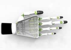 Prosthetic Contains 27 Mechanical Joints Similar to Our Own Mitts - http://www.psfk.com/2015/07/prehensile-prosthetic-printed-prehensile-fraser-leid.html