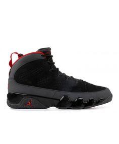 7e316a4ec9c Nike Air Jordan 9 Retro 2010 Release Black Varsity Red Dark Charcoal Outlet Jordan  9 Retro