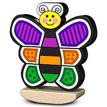 Melissa  Doug Stacking Butterfly Toy