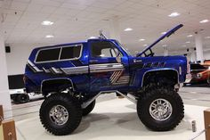 1980 Chevy Blazer Monster Truck - 1 | MadWhips
