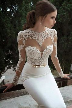 Hey future brides, here is another amazing bridal collection. It is Berta Bridal Winter a wonderful collection of long sleeve wedding dresses. Wedding Dresses 2014, Wedding Gowns, Prom Dresses, Evening Dresses, Wedding Lace, Backless Wedding, Sexy Dresses, Wedding White, Dress Prom