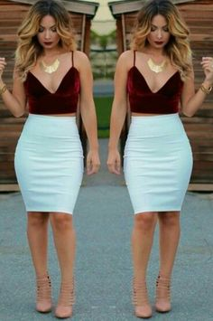 Cute two piece outfit!!!