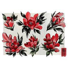 ideas for tattoo designs ideas new school – Tattoo Japanese Flower Tattoo, Japanese Tattoo Symbols, Japanese Tattoo Designs, Japanese Sleeve Tattoos, Japanese Flowers, Flower Tattoo Designs, Flower Tattoos, Flash Art Tattoos, Body Art Tattoos