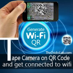How to Generate Wifi QR Code and Share it with your Friends | The Tricks Lab