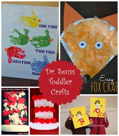 These Dr. Seuss crafts for toddlers are the perfect way to introduce your little one to the world's most beloved author of children's books. Take a look at our top five favorites from around the net.