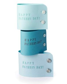 Shirt-Cuff Card for Dad | Martha Stewart