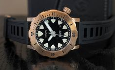 Megalodon Bronze / Ti | STEVRAL WATCHES