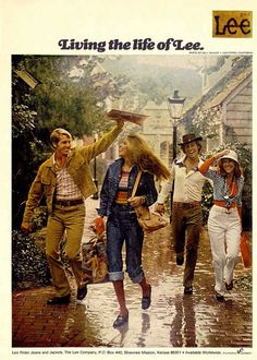 1974 Lee Jeans ad