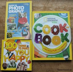 These books from National Geographic Kids make great gifts for tweens. Enter for your chance to win all 3 books from Tweenhood.ca http://tweenhood.ca/national-geographic-kids-books-giveaway/ #giveaway