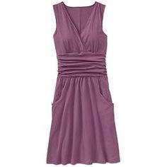 I love this, but on me empire waist dresses make me look like I'm preggers..bummer