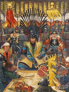 ... Art on Pinterest | The siege, Tokugawa ieyasu and Warring states