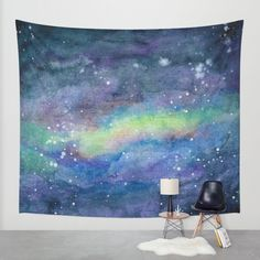 Buy  space scene with stars and nebula 2 Wall Tapestry by Dead Letters Art. Worldwide shipping available at Society6.com. Just one of millions of high quality products available.