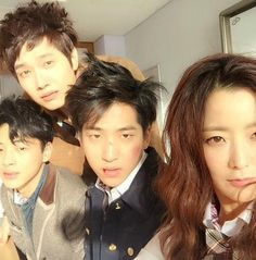 Kdrama is hard work... Cast of Angry Mom