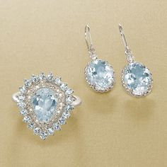 Aquamarine is the March birthstone, and the traditional gemstone gift for the 19th wedding anniversary. A gift of aquamarine jewelry is said to symbolize trust, harmony, friendship, happiness, courage, everlasting youth or renewal in a relationship. >>Click on the Aquamarine jewelry for more styles.