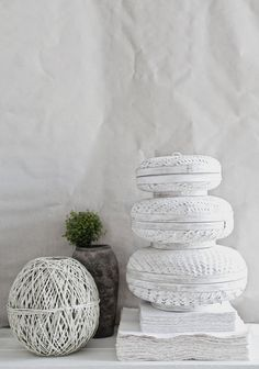 already in love with the white baskets from  love warriors collection o n e {soon in le shop} that beautifully swallow a whole lot'a'stuff | styling : sara n bergman | © hannah lemholt photography