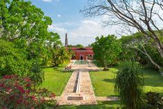 Exterior View of Hacienda