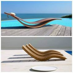 Pool Chairs, Beach Chairs, Outdoor Chairs, Outdoor Decor, Pool Furniture, Home Decor Furniture, Furniture Design, Outdoor Furniture, Rustic Patio