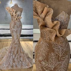 New Arrival Long Mermaid Champagne Glitters Abendkleider Arabic Evening Dress 2019 Robe De Soiree Longue 2018 Musulman _ {categoryName} - AliExpress Mobile Version - African Lace Styles, African Lace Dresses, Latest African Fashion Dresses, Evening Dresses For Weddings, Cheap Evening Dresses, Evening Gowns, Wedding Dresses, Designer Wedding Gowns, Givenchy Wedding Dress