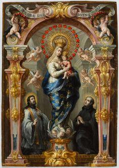 Our Lady of Good Counsel, c. 1680 Bartolomé Pérez (Spanish, 1634-1693) oil on copper