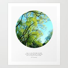 time is a tree... +  Art Print by Cloud Story + - $18.72