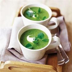 Vegetarian Christmas soups