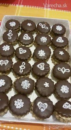 Plnené kávové sušienky