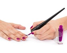Genius! How to Never Screw Up Another Self-Mani Again