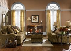 This is the project I created on Behr.com. I used these colors: CARAMEL LATTE(260F-7) -- New Color for my living room color