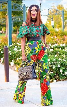Rock the Latest Ankara Jumpsuit Styles these ankara jumpsuit styles and designs are the classiest in the fashion world today. try these Latest Ankara Jumpsuit Styles 2018 African Dresses For Women, African Print Dresses, African Print Fashion, African Fashion Dresses, African Attire, African Wear, African Women, African Prints, Ankara Fashion