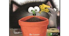 Dossier album Splat adore jardiner.pdf Magic, Farm Gate, Spring, Livres, Projects