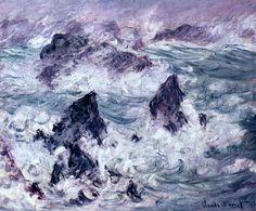 Claude Monet, Storm at Belle-Isle