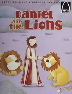 Daniel in the Lion's Den - Arch Book (Arch Books) by Larry Burgdorf http://www.amazon.com/dp/0758618573/ref=cm_sw_r_pi_dp_iP70wb1VECN4H