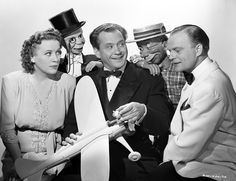 Fibber McGee and Molly are joined by Edgar Bergen, Charlie McCarthy and Mortimer Snerd in Here We Go Again (1942)