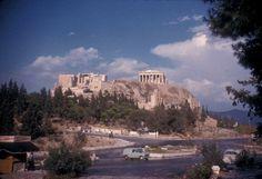 1961 ~ Under the Acropolis, Dionyssiou Areopagitou street